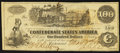 Confederate Notes:1862 Issues, T39 $100 1862 PF-3 Cr. 289A.. ...