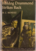 Books:Mystery & Detective Fiction, H. C. McNeile. Bulldog Drummond Strikes Back. New York: Triangle Books, [1944]. Reprint edition. Octavo. 310 pages. ...
