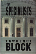 Books:Mystery & Detective Fiction, Lawrence Block. SIGNED. The Specialists. Aliso Viejo: James Cahill Publishing, 1996. First edition. Signed by ...