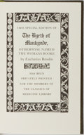 Books:Medicine, Eucharius Rosslin. The Byrth of Mankynde, Otherwyse Named the Womans Booke. [New York: Classics of Medicine Libr...