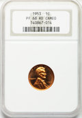Proof Lincoln Cents, 1953 1C PR68 Red Cameo NGC....