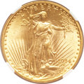 Saint-Gaudens Double Eagles, 1914 $20 MS64 NGC....
