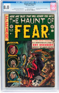 Golden Age (1938-1955):Horror, Haunt of Fear #18 (EC, 1953) CGC VF 8.0 Off-white to whitepages....