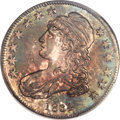 Bust Half Dollars, 1834 50C Small Date, Small Letters MS65 PCGS. O-116, R.1....