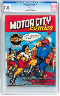 Motor City Comics #1 (Rip Off Press, 1969) CGC FN/VF 7.0 White pages