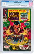 Silver Age (1956-1969):Horror, Strange Tales #156 (Marvel, 1967) CGC VF- 7.5 Off-white to whitepages....