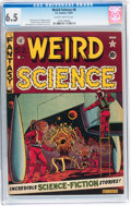 Golden Age (1938-1955):Science Fiction, Weird Science #8 (EC, 1951) CGC FN+ 6.5 Slightly brittle pages....
