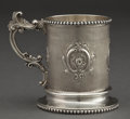 Silver Holloware, American:Cups, A GEORGE SHARP ENGINE TURNED SILVER CUP FOR BAILEY & CO. .George B. Sharp, Philadelphia, Pennsylvania, circa 1900. Marks:(...