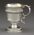 Silver Holloware, British:Holloware, A JOSEPH ANGELL SILVER FOOTED CUP . Joseph Angell, London, England,circa 1825-1826. Marks: (lion passant), (leopard's head)...