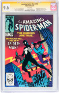 Modern Age (1980-Present):Superhero, The Amazing Spider-Man #252 Signature Series (Marvel, 1984) CGC NM+9.6 White pages....