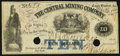 Obsoletes By State:Michigan, Eagle Harbor, MI - The Central Mining Company $10 Mar. 1, 1864. ...
