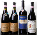 Italy, Solengo. 1999 Argiano bn Bottle (1). Barbaresco. 2000 Ca'du Rabaja Bottle (1). 1996 G. Clemente... (Total: 4 Btls.)