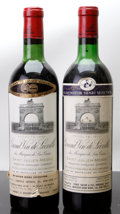 Red Bordeaux, Chateau Leoville Las Cases. St. Julien. 1966 vhs, lscl, ssosBottle (1). 1970 hs, lbsl, nc Bottle (1). ... (Total: 2 Btls. )