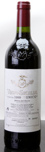 Spain, Vega Sicilia Unico 1999 . Bottle (1). ... (Total: 1 Btl. )