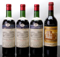 "Red Bordeaux, Chateau Ducru Beaucaillou . 1977 St. Julien lcc, nc, etchedbottle reading ""Fern Cranston 1982"" Bottle (1). Chatea... (Total: 4Btls. )"