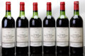 Red Bordeaux, Chateau Haut Bages Averous 1982 . Pauillac. 2hs, 3htms, 1ms,4lcc. Bottle (6). ... (Total: 6 Btls. )