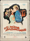 "Movie Posters:Academy Award Winners, The Sound of Music (20th Century Fox, 1965). Italian 2 - Foglio(39"" X 53""). Academy Award Winners.. ..."