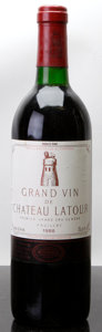 Red Bordeaux, Chateau Latour 1986 . Pauillac. bn, lbsl. Bottle (1). ...(Total: 1 Btl. )