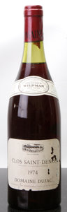 Red Burgundy, Clos St. Denis 1974 . Dujac . 3.2cm, lbsl, nl, lcc, sdc.Bottle (1). ... (Total: 1 Btl. )