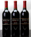 Domestic Cabernet Sauvignon/Meritage, Quilceda Creek Red. 2001 Bottle (1). 2002 Bottle (1). 2003 Bottle(1). ... (Total: 3 Btls. )