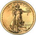High Relief Double Eagles, 1907 $20 High Relief, Wire Rim -- Rim Filed, Cleaned -- ANACS. AU58Details....