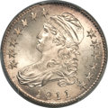 Bust Half Dollars, 1811 50C Small 8 MS67+ PCGS. CAC. O-110a, R.2....