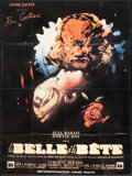 """Movie Posters:Fantasy, Beauty and the Beast (DisCina, R-1980s). French Grande (45.5"""" X62""""). Fantasy.. ..."""