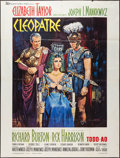 "Movie Posters:Historical Drama, Cleopatra (20th Century Fox, 1963). French Grande (47"" X 63"").Historical Drama.. ..."