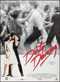 "Dirty Dancing (Vestron, R-1980s). French Grande (47"" X 63""). Romance"