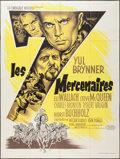 """Movie Posters:Western, The Magnificent Seven (United Artists, 1960). French Grande (47"""" X 63""""). Western.. ..."""