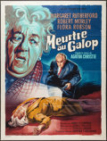 "Movie Posters:Mystery, Murder at the Gallop (MGM, 1964). French Grande (47"" X 63"").Mystery.. ..."