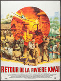 "Movie Posters:War, Return from the River Kwai (Ariane, 1988). French Grande (47"" X63""). War.. ..."