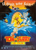 """Movie Posters:Animation, Tom and Jerry: The Movie (UGC, 1992). French Grande (47"""" X 63"""").Animation.. ..."""