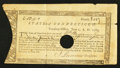 Colonial Notes:Connecticut, Connecticut Treasury Certificate £13 9s June 1, 1782 AndersonCT-19.. ...