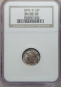 Mercury Dimes: , 1936-S 10C MS65 Full Bands NGC. NGC Census: (301/385). PCGSPopulation (1178/868). Mintage: 9,210,000. Numismedia Wsl. Pric...