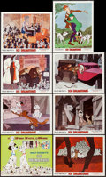 "Movie Posters:Animation, 101 Dalmatians (Buena Vista, R-1969). Lobby Card Set of 8 (11"" X 14""). Animation.. ... (Total: 8 Items)"