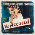 """Movie Posters:Mystery, The Accused (Paramount, 1949). Six Sheet (79"""" X 79""""). Mystery.. ..."""