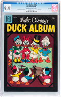 Silver Age (1956-1969):Cartoon Character, Four Color #686 Duck Album - File Copy (Dell, 1956) CGC NM 9.4 Off-white to white pages....
