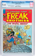 Modern Age (1980-Present):Alternative/Underground, The Fabulous Furry Freak Brothers #8 (Rip Off Press, 1984) CGC NM9.4 Off-white to white pages....