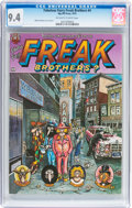 Bronze Age (1970-1979):Alternative/Underground, The Fabulous Furry Freak Brothers #4 (Rip Off Press, 1975) CGC NM 9.4 Off-white to white pages....