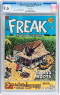 Bronze Age (1970-1979):Alternative/Underground, The Fabulous Furry Freak Brothers #5 (Rip Off Press, 1977) CGC NM+ 9.6 White pages....
