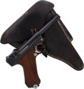 Handguns:Semiautomatic Pistol, German Mauser Banner Model P08 1941 Luger Semi-Automatic Pistolwith Holster. ...