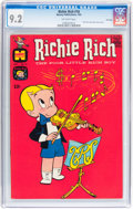 Silver Age (1956-1969):Humor, Richie Rich #18 File Copy (Harvey, 1963) CGC NM- 9.2 Off-white pages....