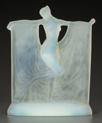 AN R. LALIQUE OPALESCENT GLASS SUZANNE STATUETTE Lalique, France, circa 1925 M