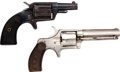 Handguns:Single Action Revolver, Lot of Two Spur Trigger Single Action Pocket Revolvers.... (Total: 2 Items)