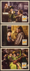 """Movie Posters:Crime, Hangover Square (20th Century Fox, 1945). Lobby Cards (3) (11"""" X 14""""). Crime.. ... (Total: 3 Items)"""