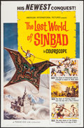 "Movie Posters:Fantasy, The Lost World of Sinbad (American International, 1965). One Sheet(27"" X 41"") Flat Folded. Fantasy.. ..."