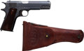Handguns:Semiautomatic Pistol, Colt Model 1911 U.S. Army Semi-Automatic Pistol with Holster....