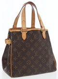 Luxury Accessories:Accessories, Louis Vuitton Classic Monogram Canvas Batignolles Vertical PM ToteBag. ...