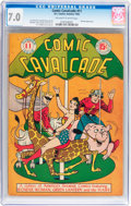 Golden Age (1938-1955):Superhero, Comic Cavalcade #11 (DC, 1945) CGC FN/VF 7.0 Off-white to whitepages....